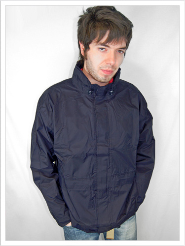 Waterproof Jacket | Breathable Rain Coat | Navy Blue