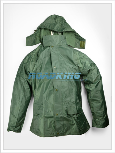 Waterproof Suit Rainsuit Clothing Jacket Trousers Green