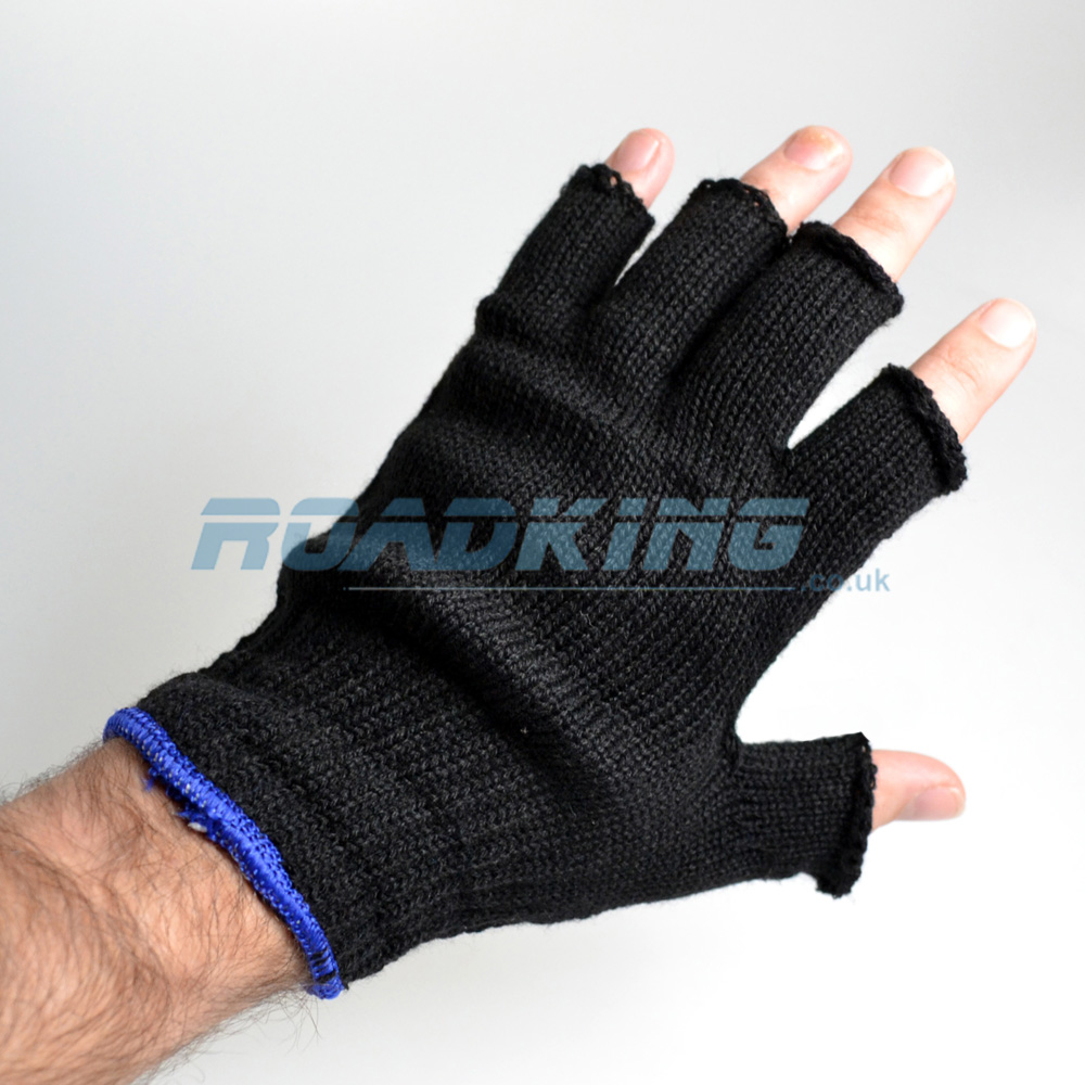 Fingerless Gloves | Black
