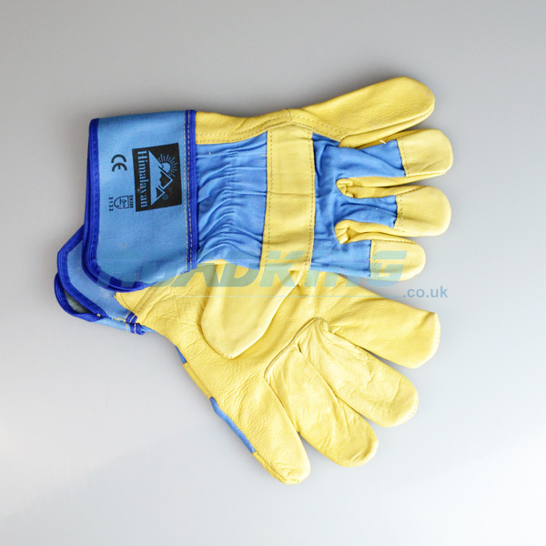 Rigger Gloves Deluxe Lined | Leather