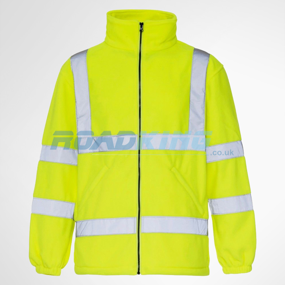 Hi - Vis Fleece Jacket