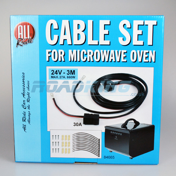 Cable Set for 24v All Ride Microwave Oven (84665)