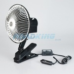 12v Cooling Fan | Clip On | 6 Inch Oscillating