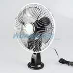 24v Cooling Fan | 8 Inch Oscillating with Suction Cup