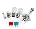 H1 12v Bulb Set - with Fuses | Light Bulbs 12 Volt