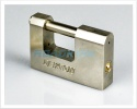 Heavy Duty Shutter Padlock 10mm | Steel | 3 Steel Keys