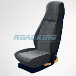 Universal Fit Truck Deluxe Seat Cover - Grey