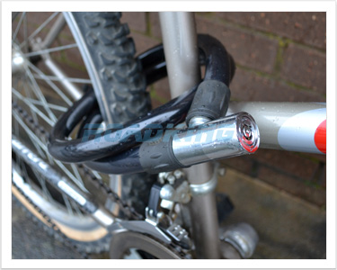Bike Cable Lock | Rolson Cycle Chain | 1.2m x 20mm