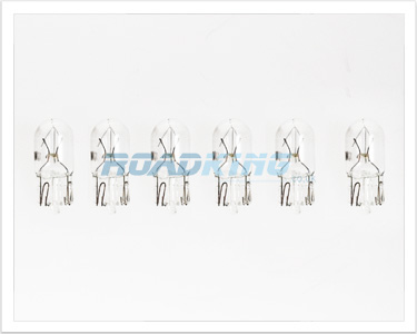12v Clear Bulb Set | 6 Pcs | Light Bulbs 5w / 12 Volt