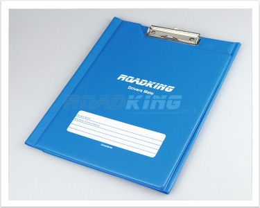 RoadKing Hard Back Drivers Mate A4 Folder with Clip Board