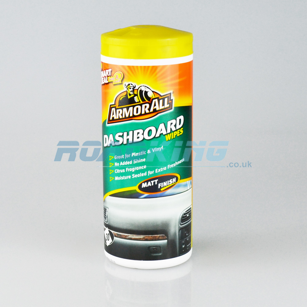 ArmorAll Dashboard Wipes | Matt Finish | 30