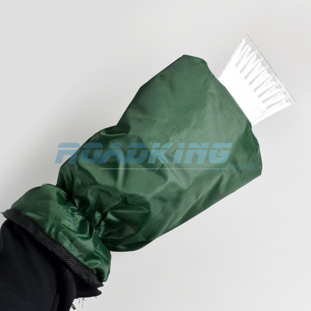 Ice Scraper Mitt | Insulated Fleece Lined