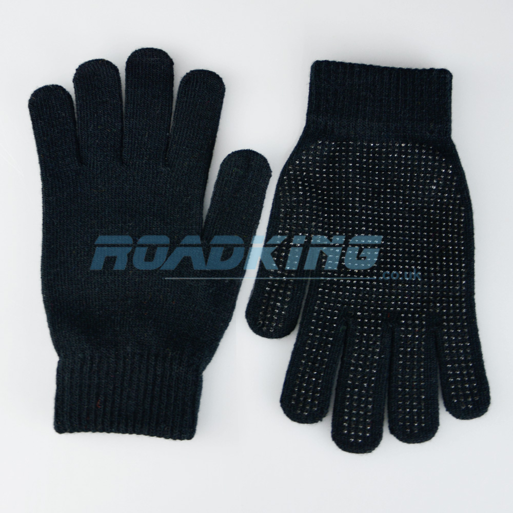Adult Magic Gloves | Pimple Grip | Black