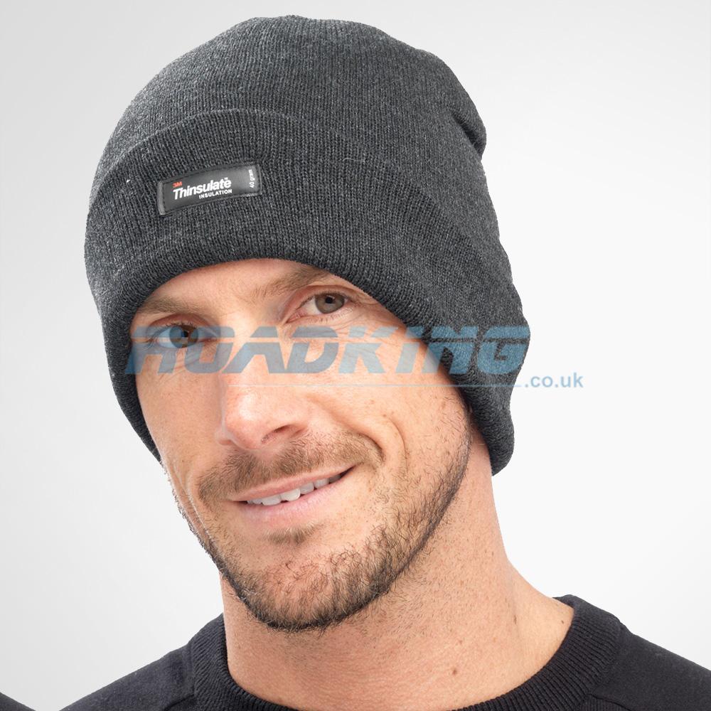 3M Thinsulate Beanie Hat - 40 Gram - Grey  f9385ed86e1