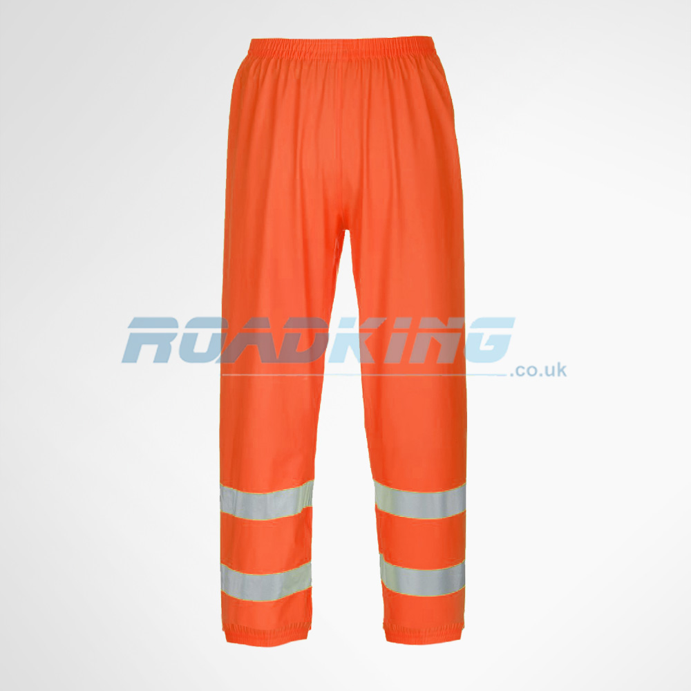 Hi-Vis Breathable Trousers | Orange