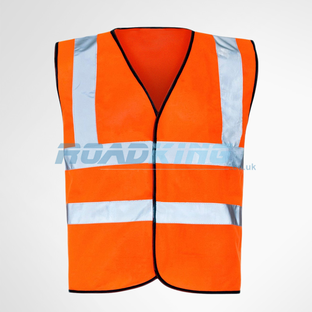 Hi Vis Vest | Hi-Vis Safety Waistcoat | Orange