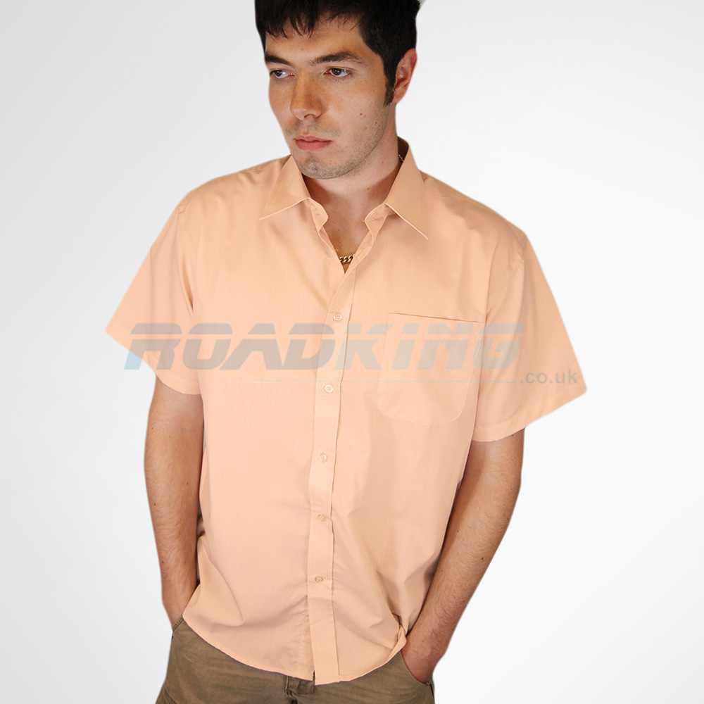 Short Sleeve Shirt | Mens | Peach