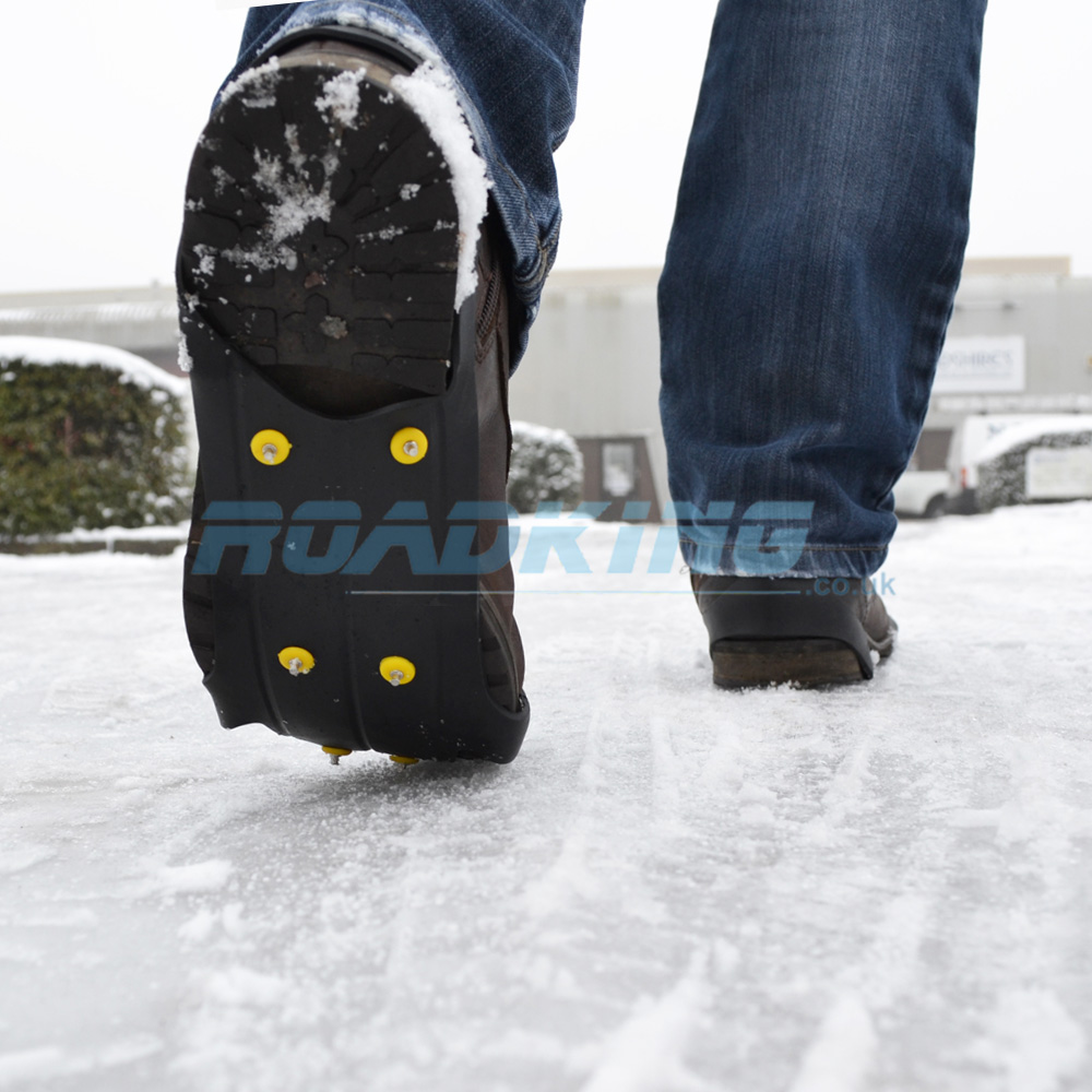 Ice Shoe Grips | Snow Spikes for Boots | UK  8 - 13
