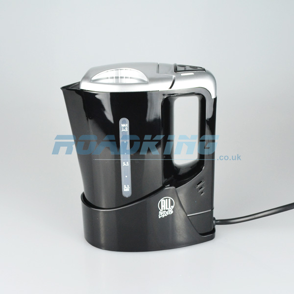 1 Litre Electric Truck Kettle & Holder | Black | 24v