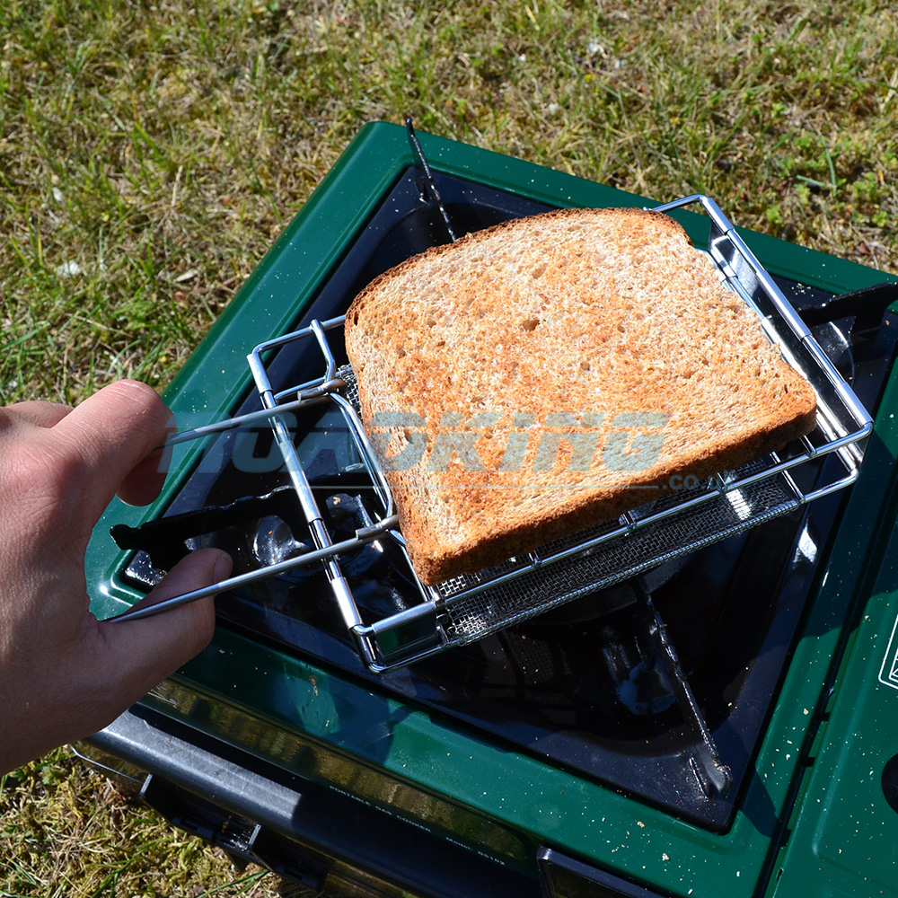 Stainless Steel Folding Toaster