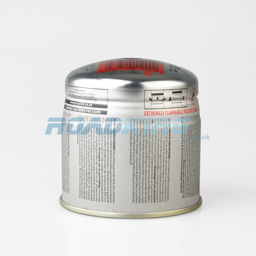 Gas Cartridge P2 Butane Battery | 190g