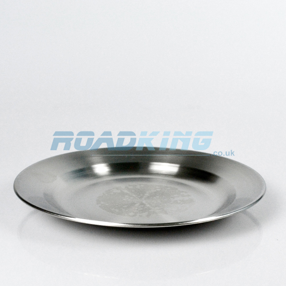 Travel / Camping Plate | 25cm Stainless Steel