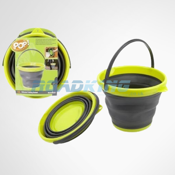 Pop Up Collapsible Camping Water Bucket | 10L