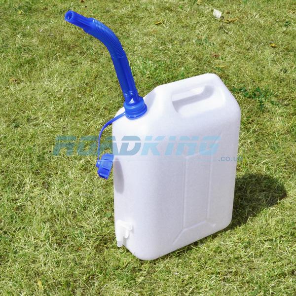 Water Carrier | Portable Water Container with Tap & Spout | 10 Litre