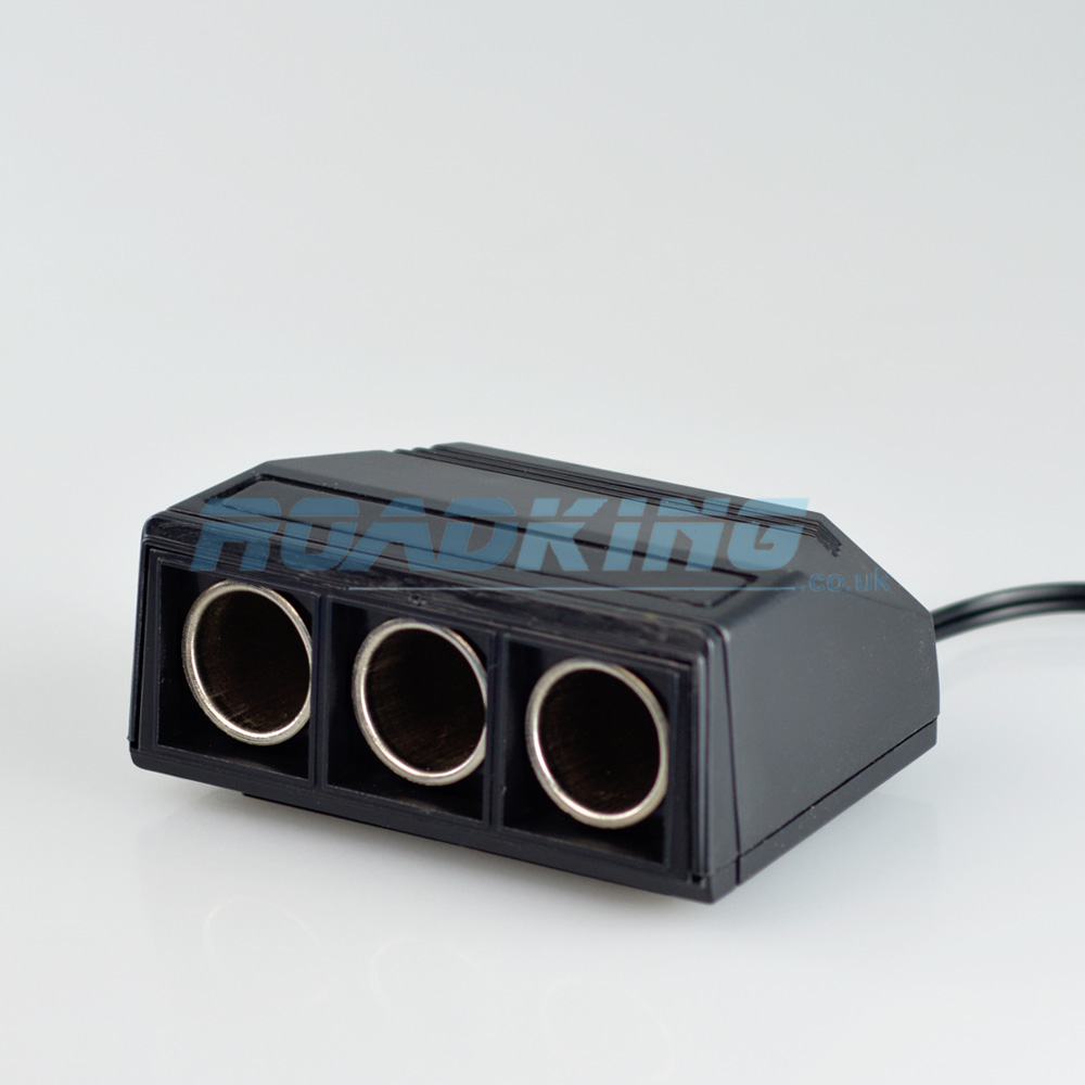 3-Way Cigarette Lighter Adaptor / Splitter / Socket | 12v / 24v