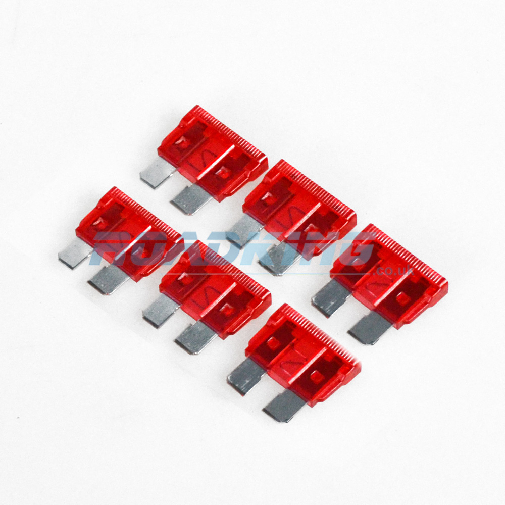 10a Blade Fuse | 6x Pack | 10 Amp Red
