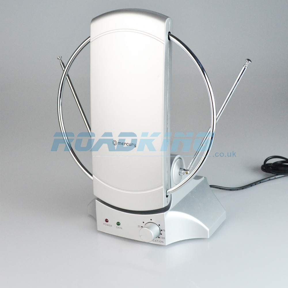TV/FM Indoor Amplified Aerial | 4G Ready