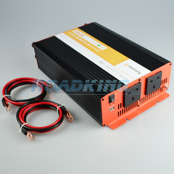 2500w Inverter - Soft Start Modified Sine Wave | 24v