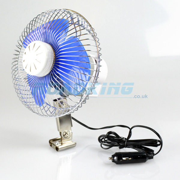 24v Cooling Fan | 7 Inch Oscillating With Air Freshener