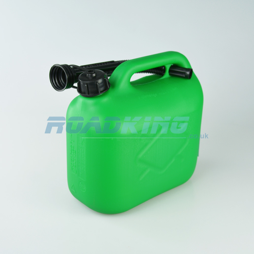 Jerry Can 5L | 5 Litre Green Plastic Fuel Can