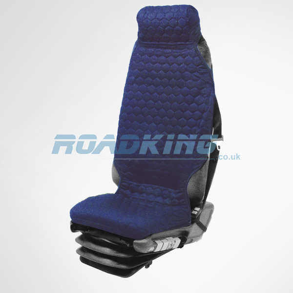 Universal Fit Truck Seat Cover - Blue