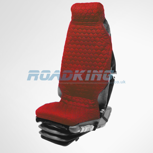 Universal Fit Truck Seat Cover - Red