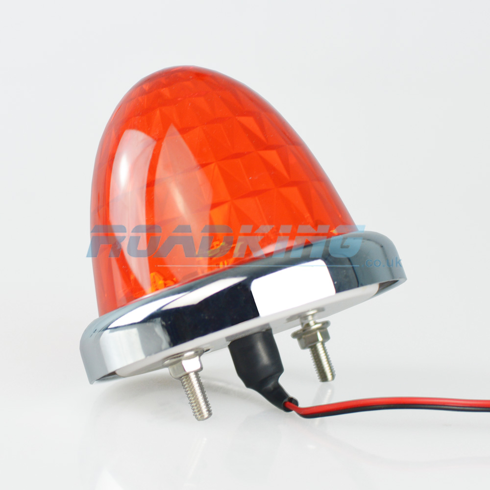 24v Diamond Toplight - 9 LED - Orange
