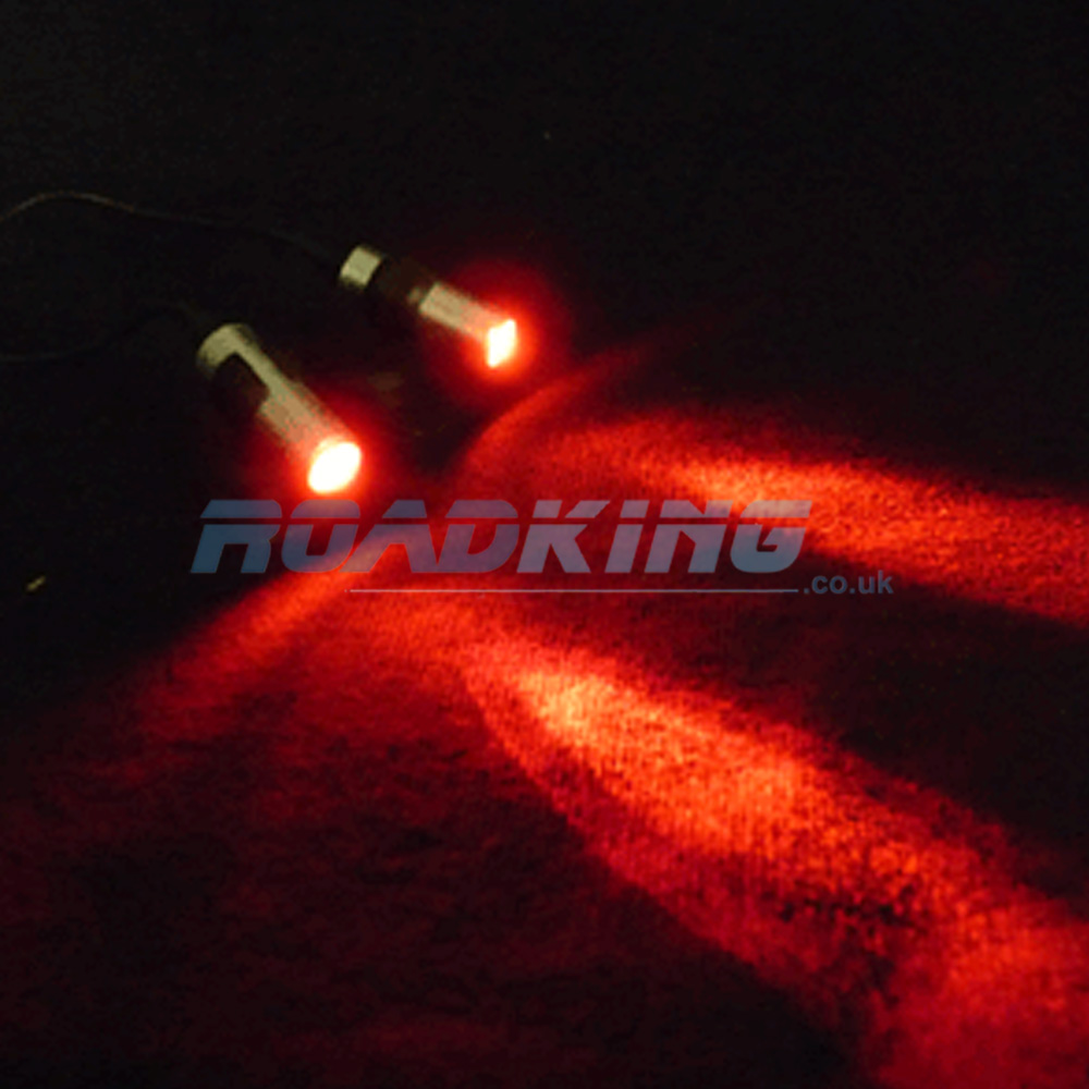 Twin Red Lights - 24 Volt