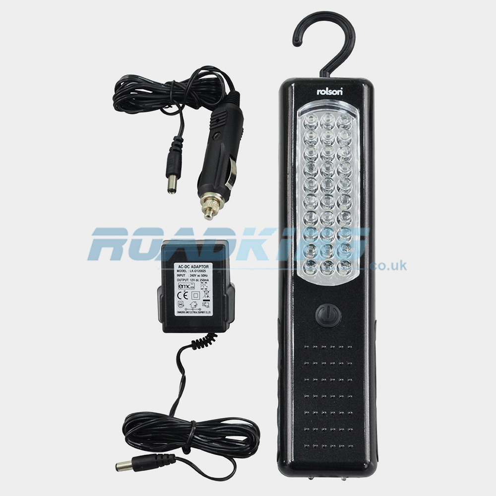Rolson 30 LED Rechargeable Worklight