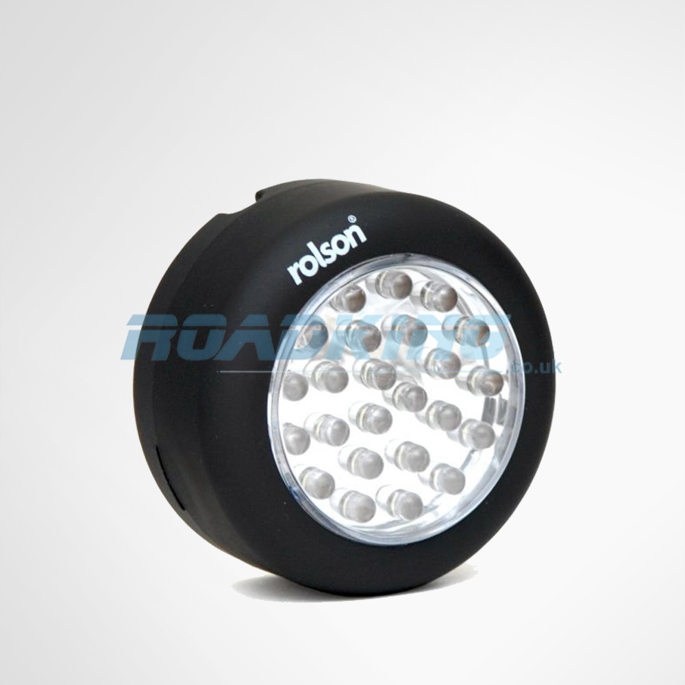 24 LED Magnetic Light with Hook | 70mm