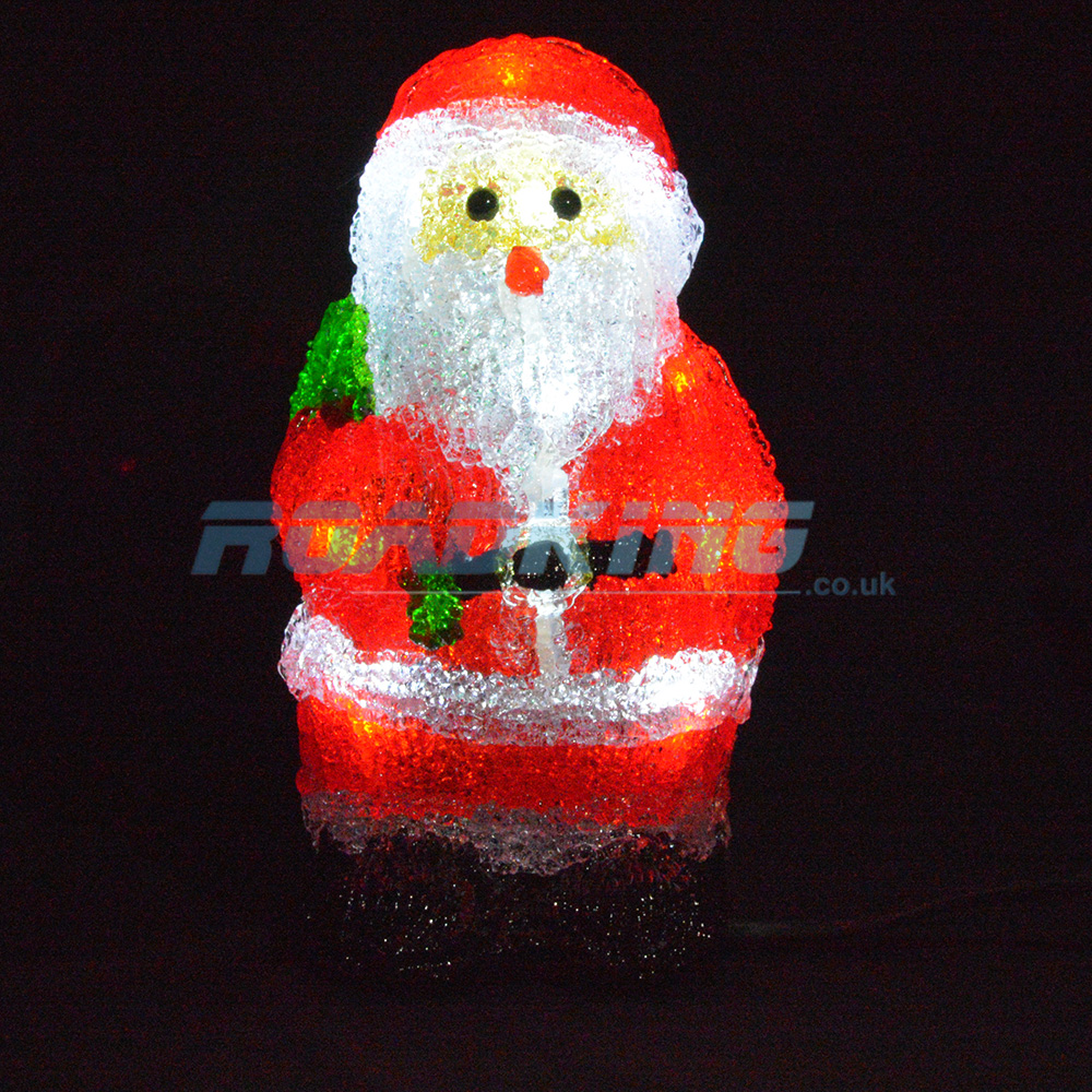 8'' LED Light Up Santa Claus / Father Christmas | 24v