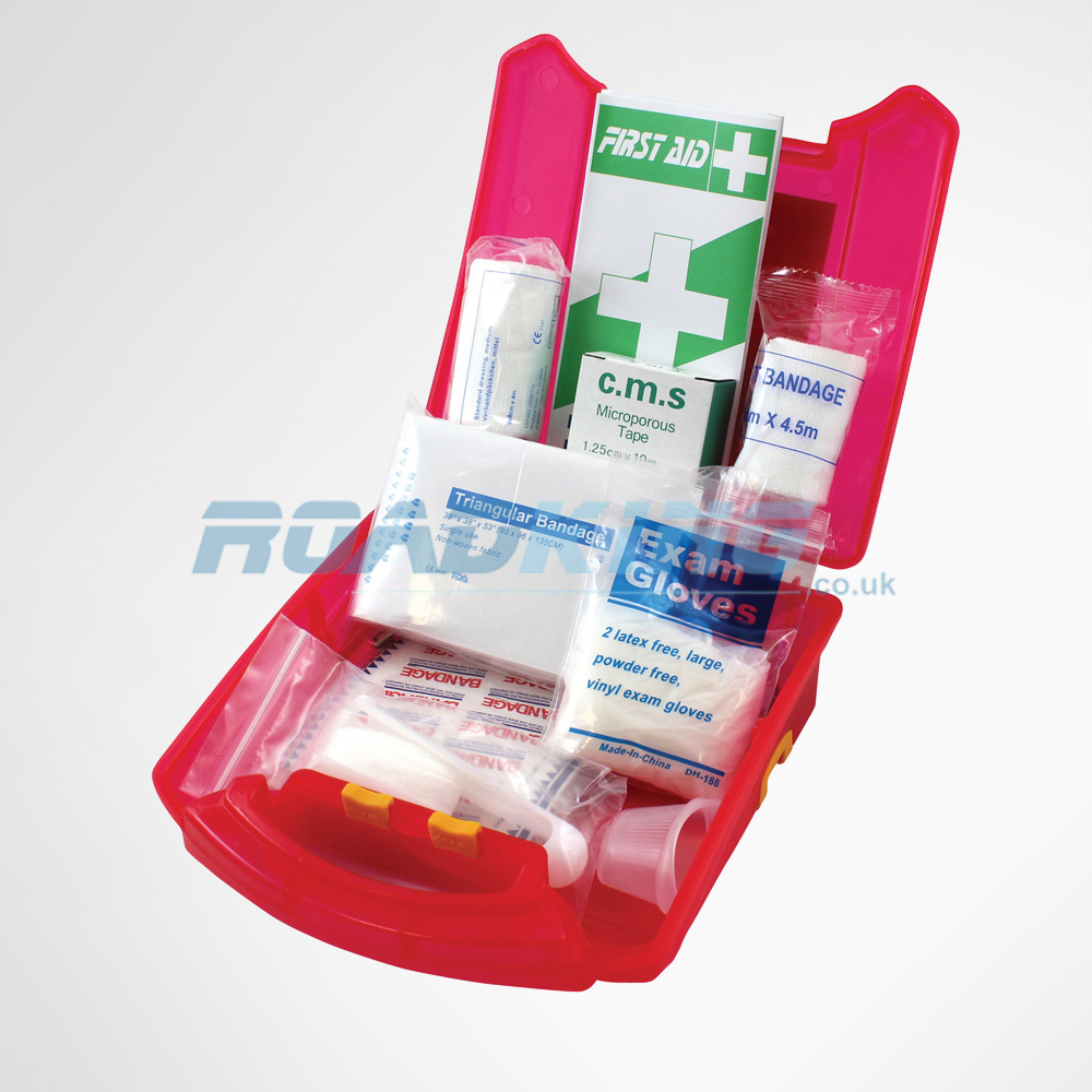 First Aid Kit | 59 Piece Touring First Aid Travel Kit