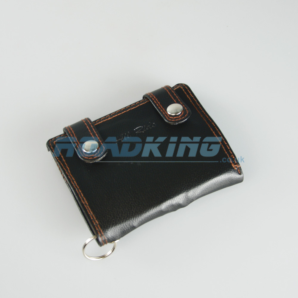 Small Truckers Wallet with Chain | Black
