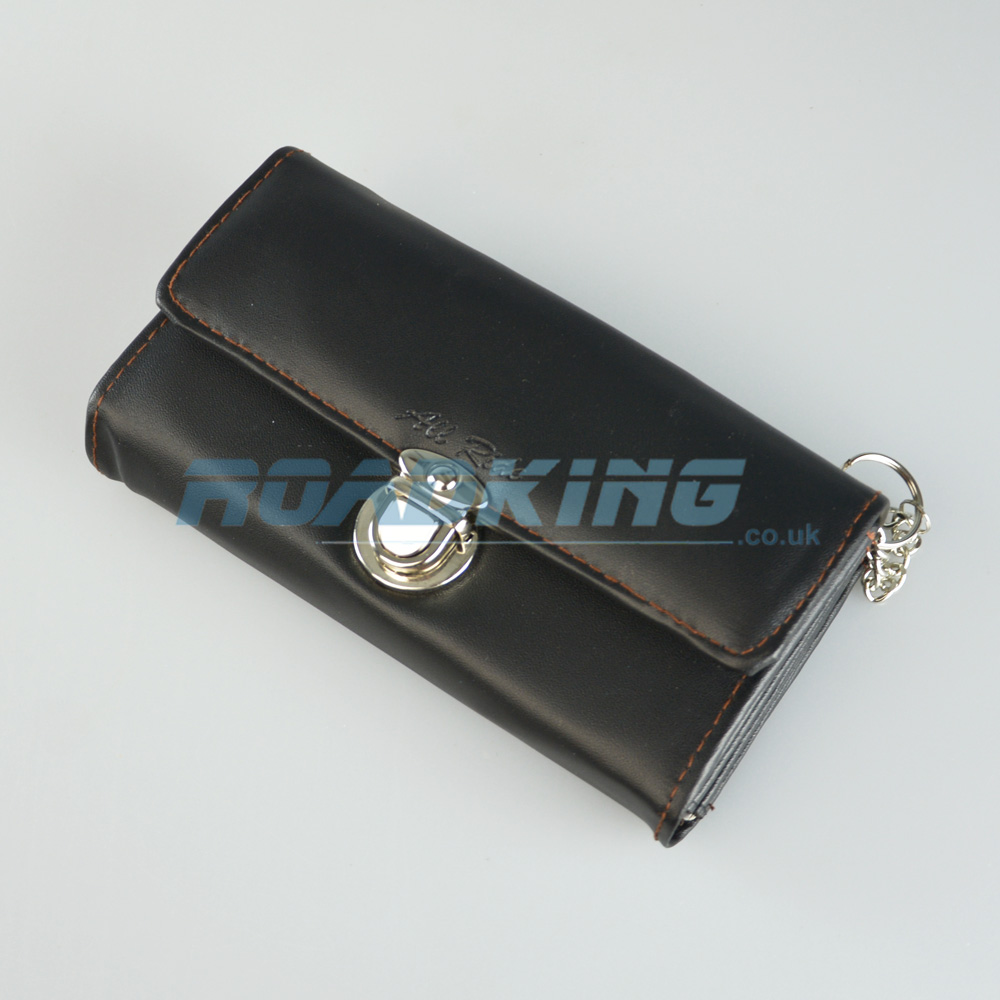 Large Truckers Wallet with Chain | Black