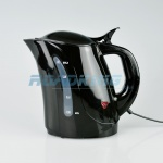 1 Litre Travel Kettle with Cigarette Lighter Plug | Black | 24v
