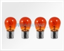 12v Amber Indicator bulbs 21w | 4 Pcs