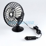 12v Cooling Fan | 5 Inch Oscillating Fan with Suction Cup