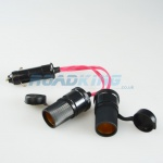 2-Way Cigarette Lighter Adaptor / Splitter / Socket | Heavy Duty | 12v / 24v