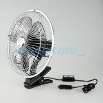 24v Cooling Fan | Clip On | 10 Inch Oscillating