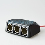 3-Way Cigarette Lighter Adaptor / Splitter / Socket 16A| 12v / 24v
